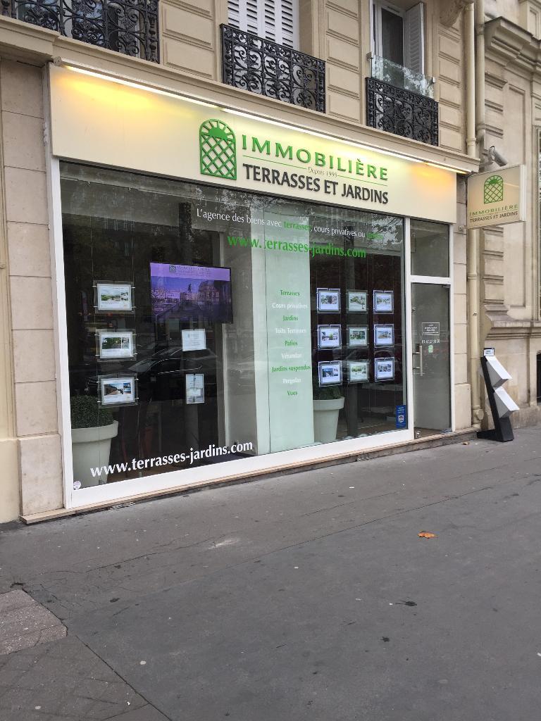 Terrasses Et Jardins Paris - Agence immobilière (adresse, avis)