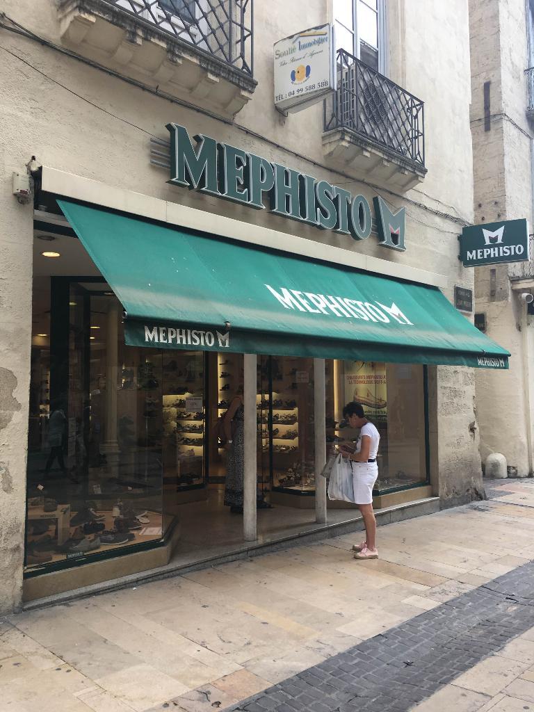mephisto montpellier - magasin de chaussures (adresse, horaires, avis)