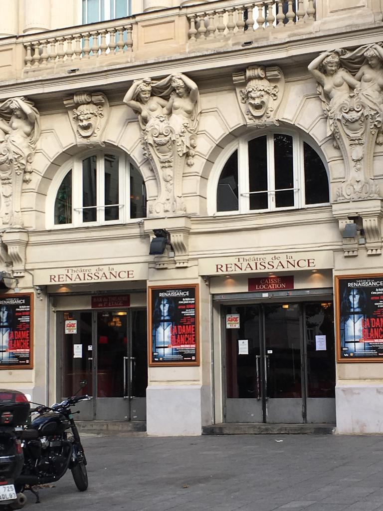Th tre de la renaissance salle de concerts et - Theatre de la porte saint martin 75010 paris ...