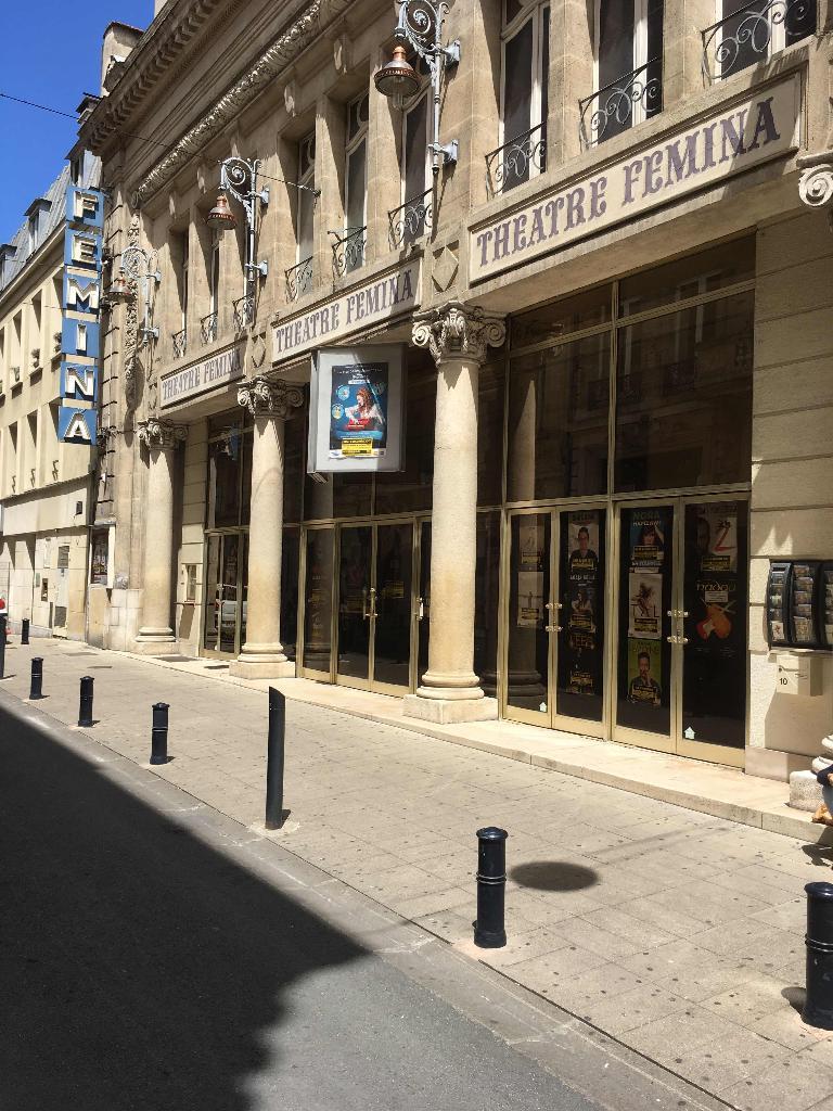 Th tre f mina salle de concerts et spectacles 10 rue grassi 33000 bordeaux adresse horaire - Comptoir du jazz bordeaux ...