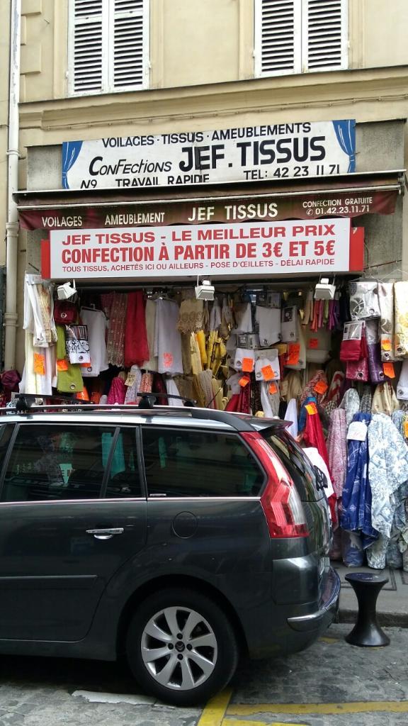 Tissus jef rideaux voilages et tissus d 39 ameublement 9 rue seveste 75018 paris adresse horaire - Tissus d ameublement paris ...