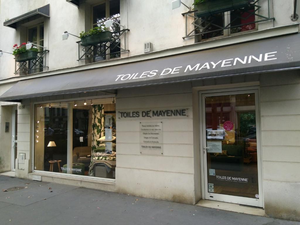 toiles de mayenne tissus au m tre 112 avenue achille peretti 92200 neuilly sur seine. Black Bedroom Furniture Sets. Home Design Ideas