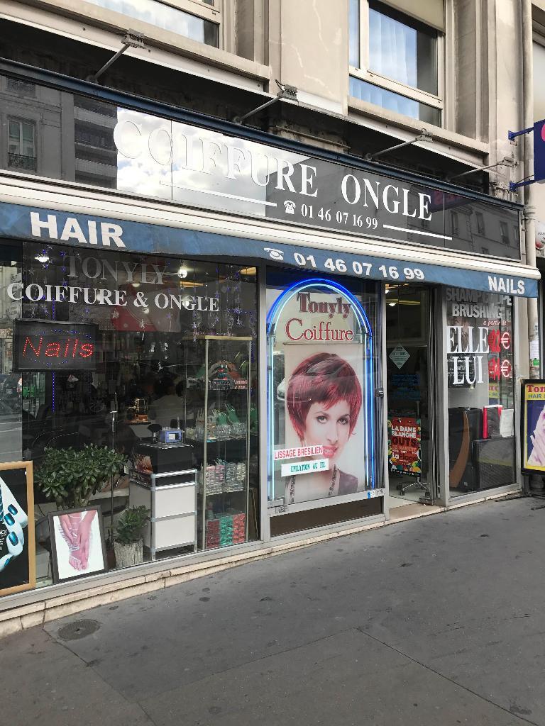 Tonyly Coiffure Coiffeur 28 Rue Chapelle 75018 Paris Adresse