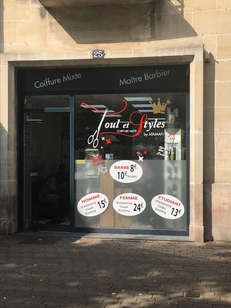 Toul Et Styles Coiffeur 25 Place Trois Eveches 54200 Toul