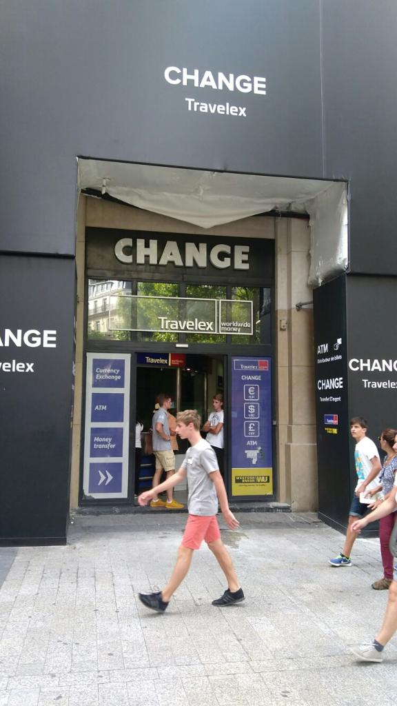 Travelex bureau de change 125 avenue des champs elys es 75008 paris adresse horaire - Bureau de change paris 7 ...