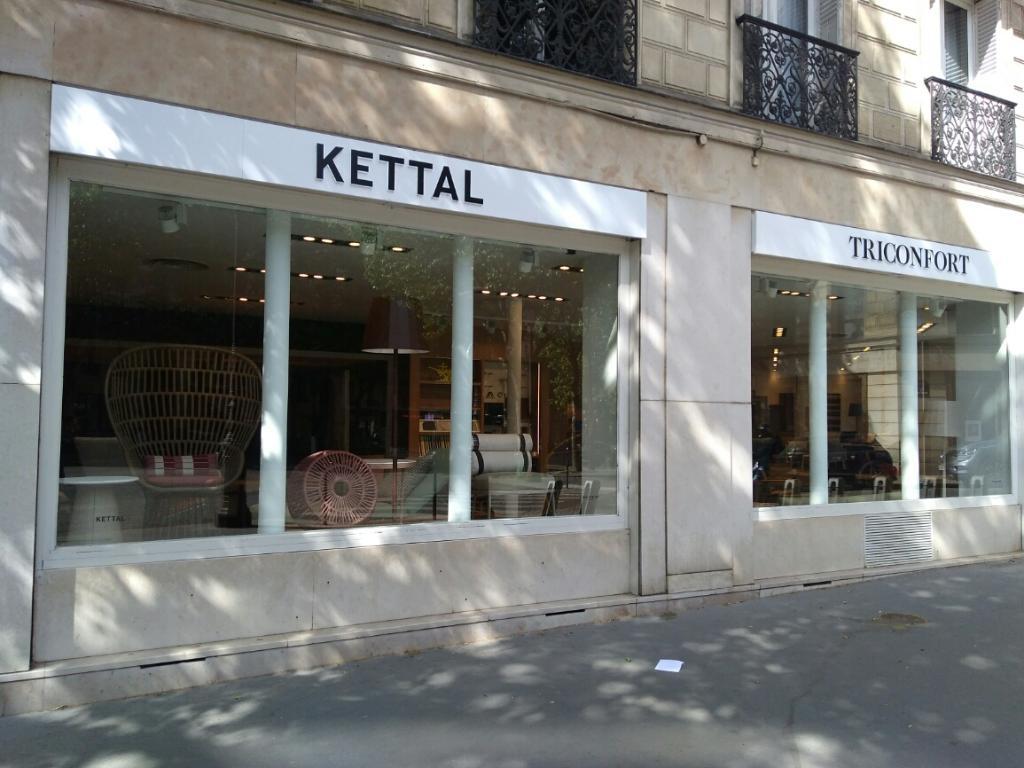 Triconfort-Kettal - Mobilier de jardin, 80 boulevard Malesherbes ...