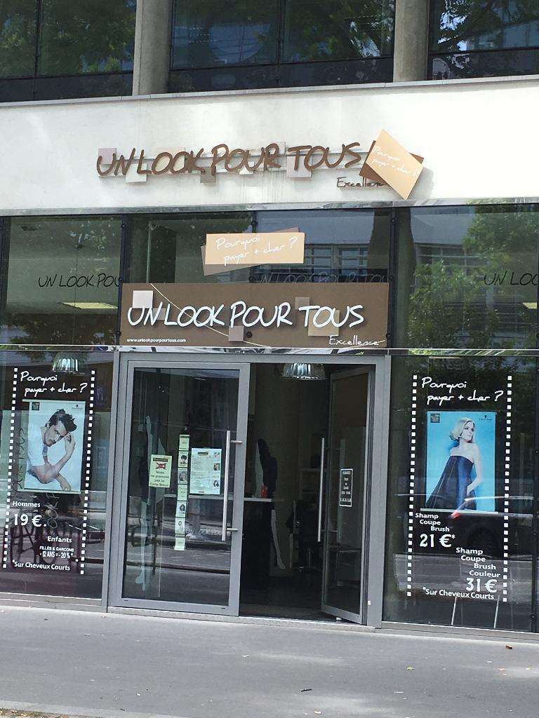un look pour tous coiffeur 144 boulevard macdonald 75019 paris adresse horaire. Black Bedroom Furniture Sets. Home Design Ideas