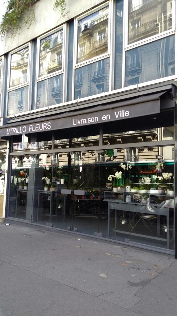 utrillo fleurs fleuriste 70 rue damr mont 75018 paris