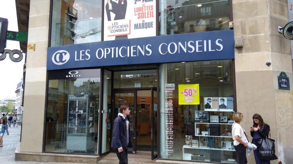 5f6aac1e1838a5 Opticiens Conseils - Opticien, 130 rue Rivoli 75001 Paris - Adresse ...