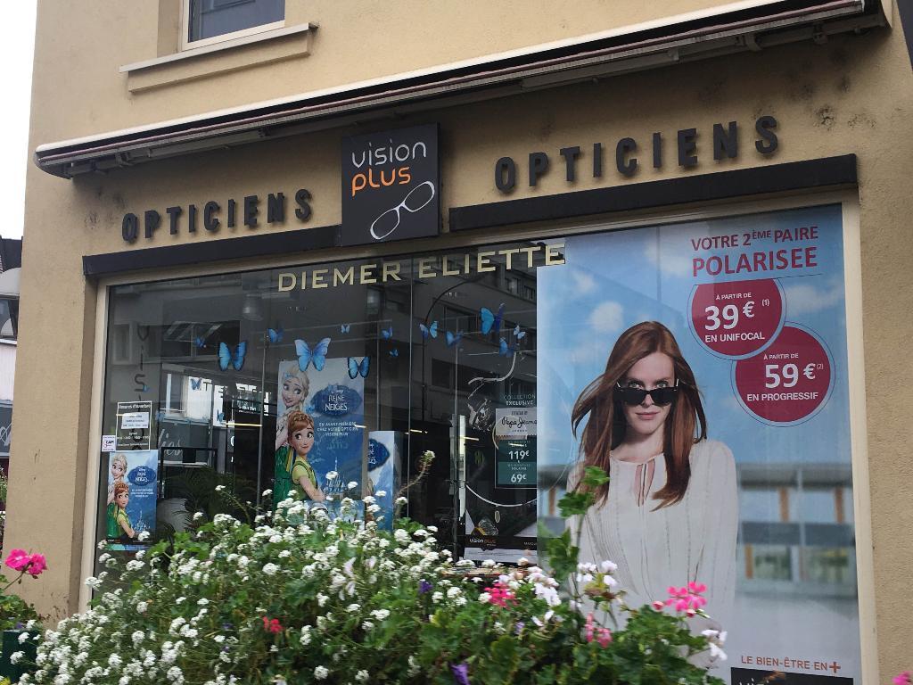 Vision Plus - Opticien, 2 rue Mulhouse 68300 Saint-louis - Adresse ... c42a4e9ea577
