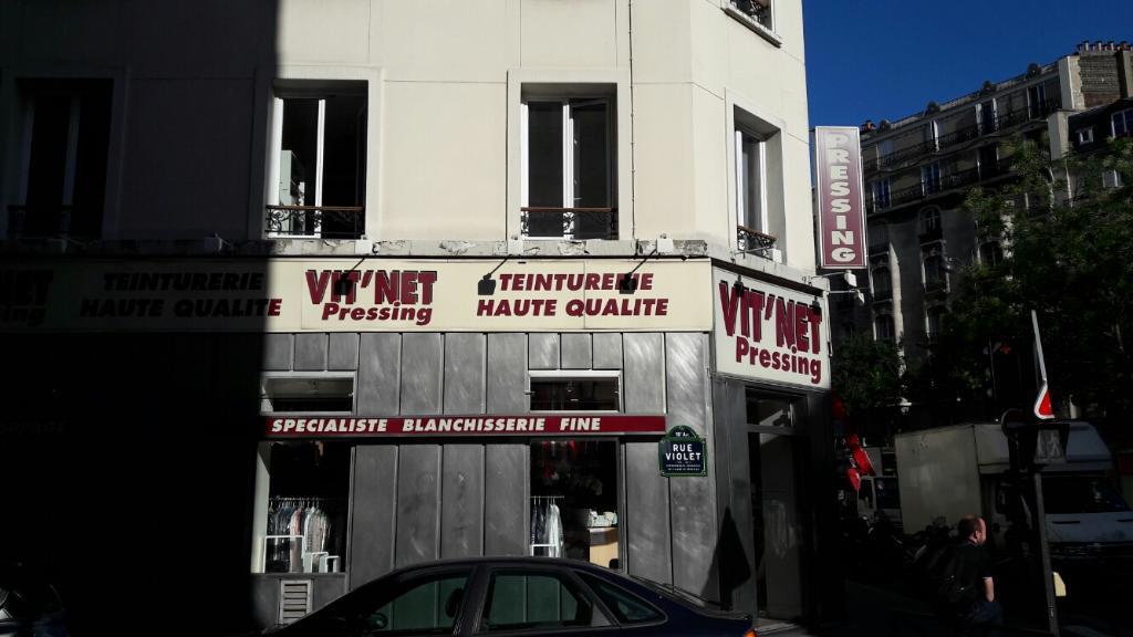 vit net pressing pressing 45 rue violet 75015 paris adresse horaire. Black Bedroom Furniture Sets. Home Design Ideas