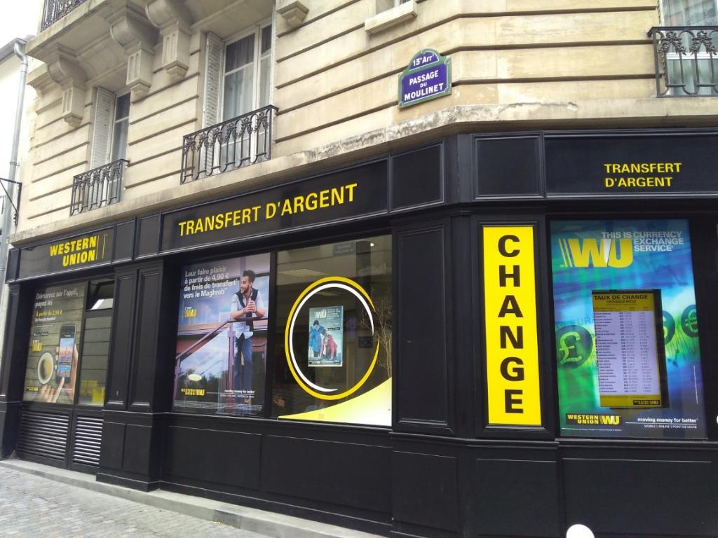 Western union bureau de change rue tolbiac paris