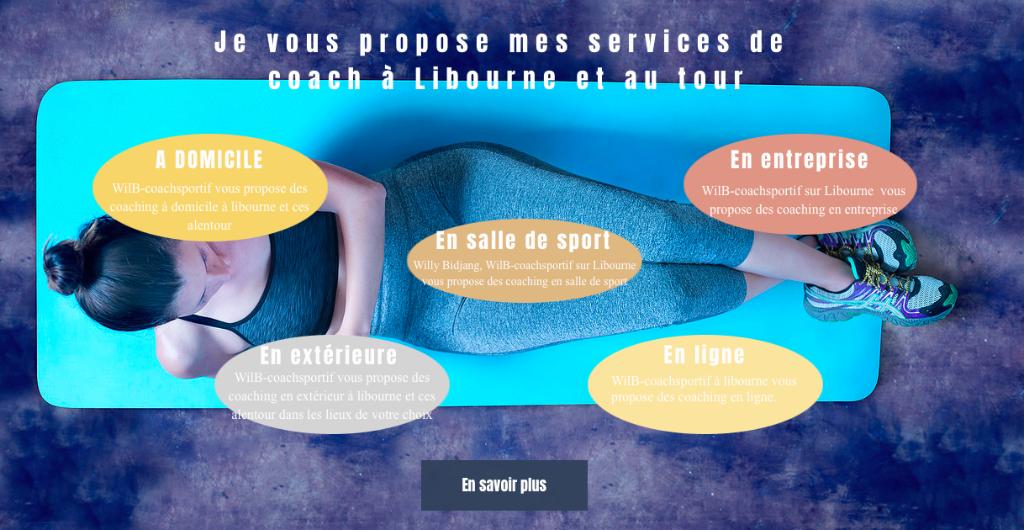 Wilb coach sportif club de sport cours des girondins - Horaire piscine libourne ...