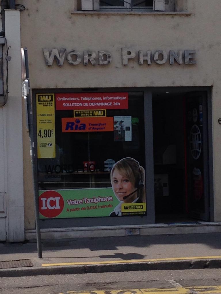 word phone vente de t l phonie 68 rue saint dizier. Black Bedroom Furniture Sets. Home Design Ideas